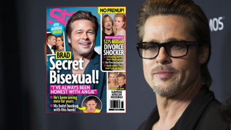 Brad Pitt es bisexual desde hace más de una década