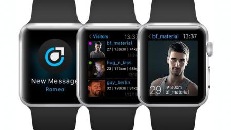 PlanetRomeo, disponible en el nuevo reloj de Apple