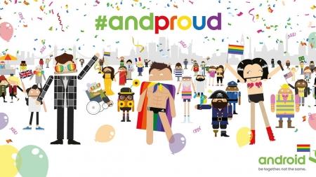Participa de la Marcha del Orgullo LGBT Mundial de Android – ANDROIFICATE!!!
