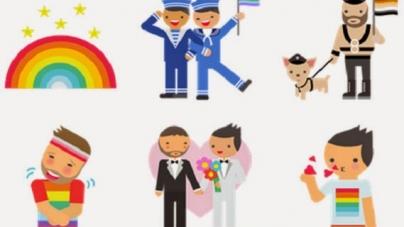 Invasion gay en los los nuevos emojis