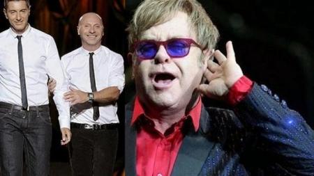 Elton John arremete contra Dolce & Gabbana por rechazar la adopción de las parejas gays