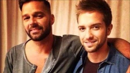 Supuesto romance entre Ricky Martin y Pablo Alborán