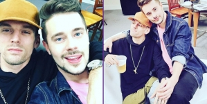 Aaron Carter y Chris Crocker ¿novios?