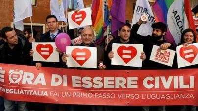 Italia: El Senado aprueba la union civil