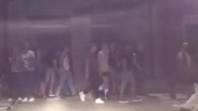 España: La policía irrumpe en una orgía callejera en Gran Canaria y sube video