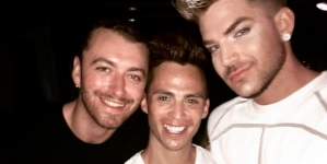 Sam Smith y Adam Lambert, juntos en Mykonos