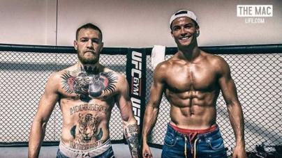 Cristiano Ronaldo y Conor McGregor se unen para entrenar
