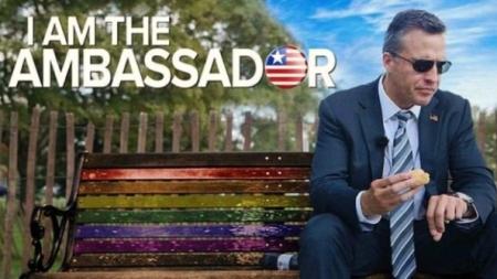 Embajador gay de EEUU protagoniza reality de Netflix