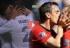 Los besos más románticos entre futbolistas