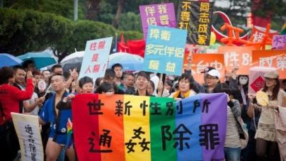 Taiwan: Podria ser el primer país de Asia que puede aprobar el matrimonio homosexual