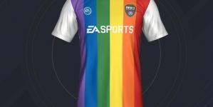 Polémica por la inclusión de una equipación arco iris en el videojuego FIFA 17