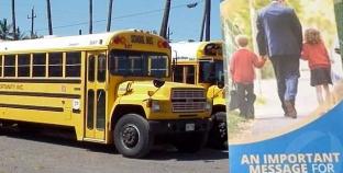 Australia: Un conductor de bus regala folletos anti gay a niños