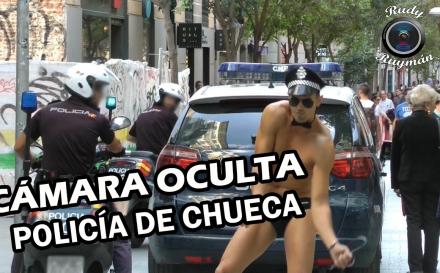 """El vídeo del """"policía de Chueca"""" que se ha hecho viral"""