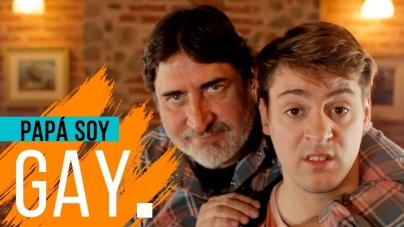 """""""Papa, soy Gay"""", una divertido video de como explicarle a tu papa que eres gay"""