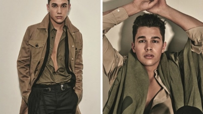 Austin Mahone posa sin playera en L'Uomo Vogue