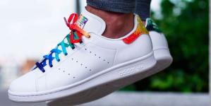 Adidas lanza las primeras imágenes de sus tenis pro LGBT