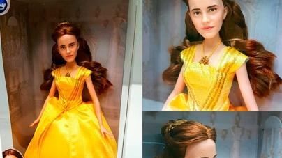 La cara de Justin Bieber, ¿en una muñeca de Bella de 'La bella y la bestia'?