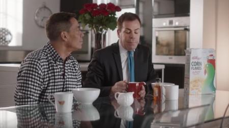 Pareja gay protagoniza un anuncio de Kellogg's