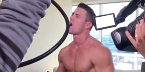 Mannequin challenge durante el rodaje de una película porno gay
