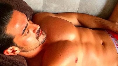 La foto hot del actor mexicano Ricardo Franco