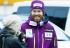 El esquiador noruego Leif Kristian Haugen completamente desnudo
