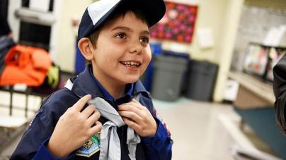 USA: Joe Maldonado, el primer niño transexual de los boy scouts