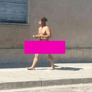 Uruguay: Detienen hombre que caminaba desnudo con una biblia en manos