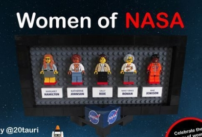 Lego incluye la astronauta lesbiana Sally Ride en Women in NASA