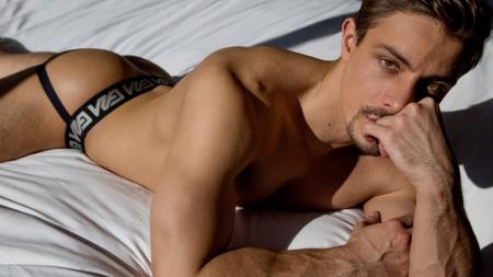 Carter Dane, de actor porno a modelo Garçon Model
