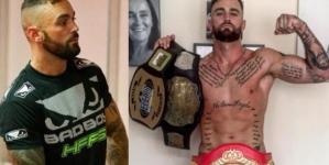 El boxeador Robbie Gaine nos presume su gran miembro