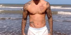 La foto al desnudo del arquero argentino Sebastián Anchoverri