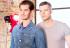 Andrew Garfield y Russel Tovey en portada de Gay Times