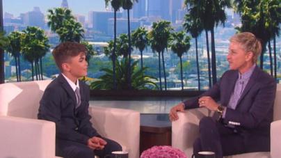 Reuben de Maidm, El niño de 12 años que se robó el corazón de Ellen DeGeneres