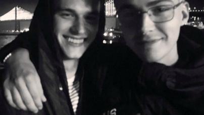 Brandon Flynn y Miles Heizer y el amor gay en '13 Reasons Why' de Netflix