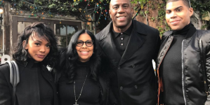 Magic Johnson apoya en Ellen a su hijo gay EJ Johnson