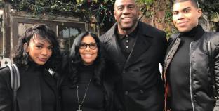 Magic Johnson apoya en Ellen a su hijo gay EJ Johnson