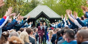 La boda de cuento de hadas de Tom Daley y Dustin Lance Black