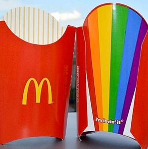 USA: McDonalds lanza las 'Pride Fries' o 'Patatas del Orgullo Gay'