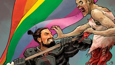 The Walking Dead y su portada gay en su ultimo comic