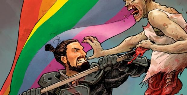 The Walking Dead y su portada gay en su ultimo comic