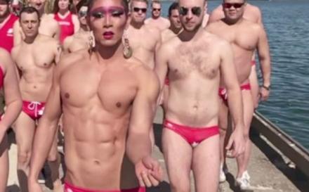 El vídeo viral del equipo gay de waterpolo en Miami
