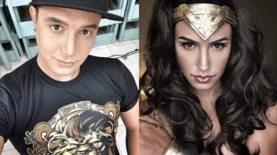 Filipinas: Paolo Ballesteros se transforma en Wonder Woman durante Facebook Live