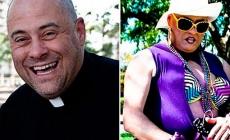 """La historia del padre Anthony: Cura de día y drag """"Big Mama Capretta"""" de noche"""