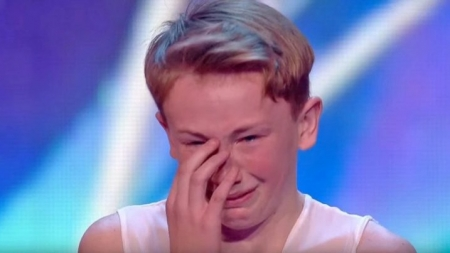 Jack Higgins y su emocionante audicion en Britain's Got Talent