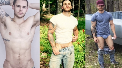 Matthew Camp totalmente desnudo