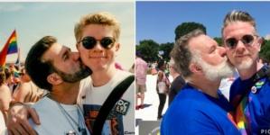 Pareja gay 25 años después siguen juntos