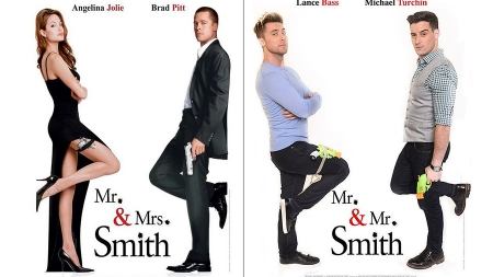 Lance Bass y Michael Turbin recrean 9 películas famosas