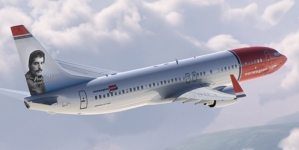 Noruega: Freddie Mercury en la de cola de aviones de Norwegian Airlines