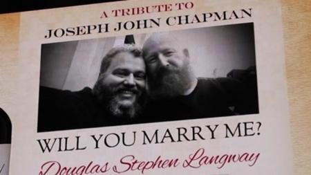 Una propuesta de amor a 10.000 millas de distancia