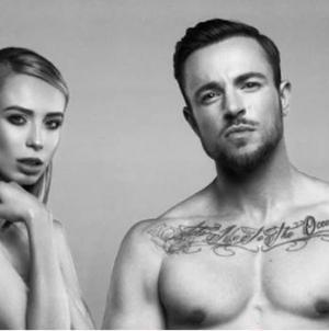 Loiza Lamers y Benjamin Melzer  posan desnudos contra el maltrato animal